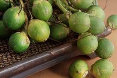 Grön betel - mutter på magasinet Royaltyfria Bilder