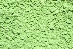 Grön betongvägg Royaltyfri Bild