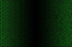 Grön binär torsk Arkivfoto