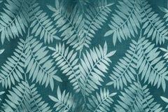 Grön bladtapet Arkivbild