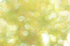 Grön Bokeh suddighet Royaltyfria Foton