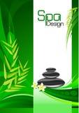 grön brunnsort för bakgrund stock illustrationer