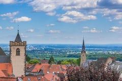 Grön bydal, Kronberg, Tyskland Royaltyfria Foton