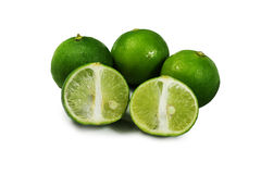 grön citron Arkivbilder