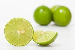 grön citron Arkivfoton