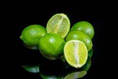 grön citron Fotografering för Bildbyråer