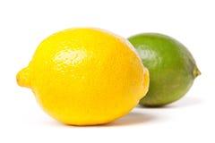 grön citronlimefrukt Royaltyfri Bild