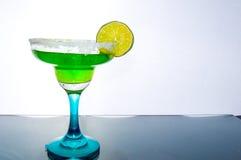 Grön coctail Fotografering för Bildbyråer