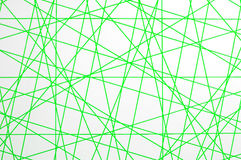 Grön Crosslinestextur Royaltyfri Bild