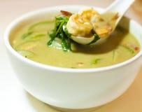 Grön curry Royaltyfria Bilder