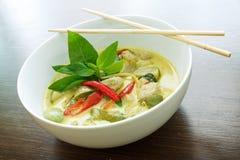 Grön curry Royaltyfria Foton