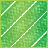 Grön diagonalbandmodell royaltyfri illustrationer