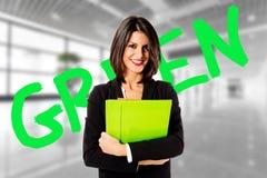 Grön ekonomi arkivfoto