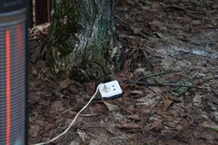 Grön elektricitet Royaltyfri Foto