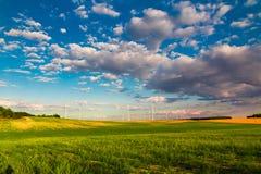 Grön energi arkivbilder