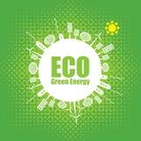 Grön energi Arkivbild