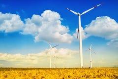 Grön energi Fotografering för Bildbyråer