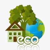 Grön energi och ekologi Royaltyfria Bilder