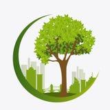 Grön energi och ekologi Royaltyfri Fotografi