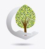 Grön energi och ekologi Royaltyfria Foton
