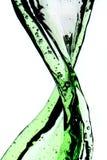 grön färgstänk Royaltyfria Bilder