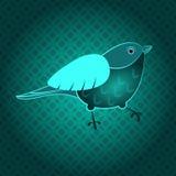 Grön fågel Royaltyfri Bild