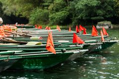 Grön fartygbakgrund Royaltyfri Bild
