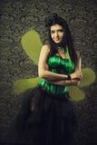 Grön fe Royaltyfria Bilder