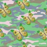 Grön fjäril Royaltyfri Bild
