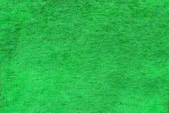 Grön fluffig textur Fotografering för Bildbyråer