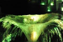 Grön fontain Arkivbilder