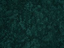 grön frotté Arkivbild
