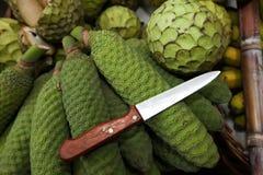 Grön frukt Arkivfoton