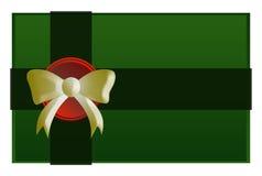 Grön gåva Royaltyfria Bilder