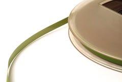 grön gammal rulle Arkivfoto