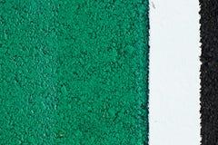 grön gata royaltyfri foto