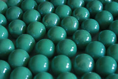 Grön glassbead Arkivbild