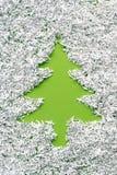 Grön gran Arkivfoto