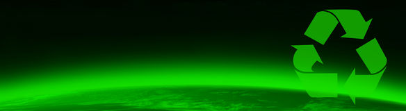 grön greenpeace värld Royaltyfri Foto