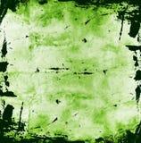 grön grunge för bakgrund Fotografering för Bildbyråer