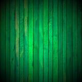Grön Grunge träbakgrund fotografering för bildbyråer