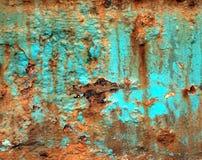 grön grungerost Royaltyfria Bilder