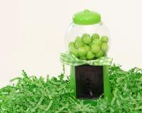 grön gumballmaskin Royaltyfri Fotografi