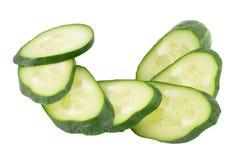Grön gurka två Royaltyfri Foto