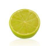 grön half limefrukt Royaltyfri Foto