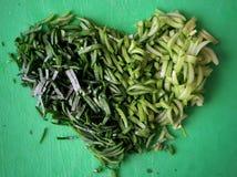 grön hjärta Royaltyfri Bild
