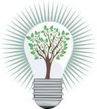 grön idé Arkivfoto