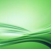 grön illustrationflytande Arkivbild