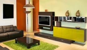 grön interior Arkivfoton