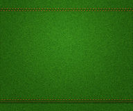 Grön jeanstextur Arkivbilder